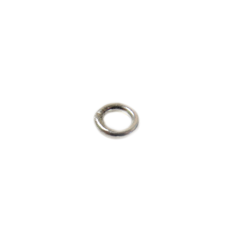 Jump Ring Closed, Sterling Silver, 16 Gauge, 6mm; 1 piece