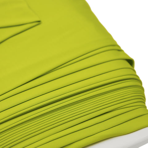 "Chartreuse, Spandex Knit Fabric - 58"" Wide; 1 Yard"