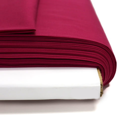 "Fuchsia, Broadcloth Fabric - 58"" Wide; 1 Yard"