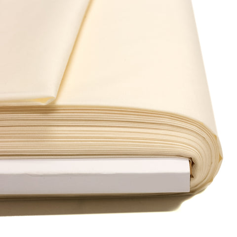 "Ivory, Broadcloth Fabric - 58"" Wide; 1 Yard"