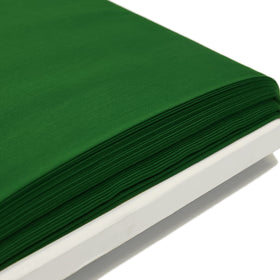 Kelly Green, Poly/Cotton Broadcloth (Tremode) Fabric - 58