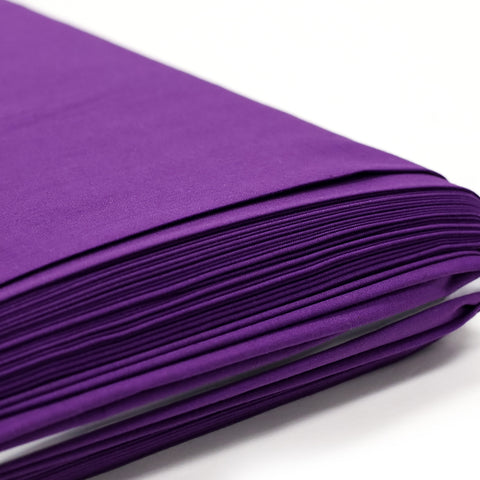 "Purple, Broadcloth Fabric - 58"" Wide; 1 Yard"