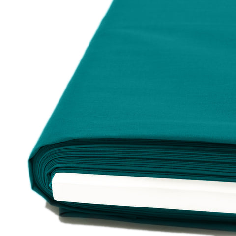 "Teal, Broadcloth Fabric - 45"" Wide; 1 Yard"
