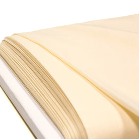 Ivory, Poly/Cotton Broadcloth (Tremode) Fabric - 58