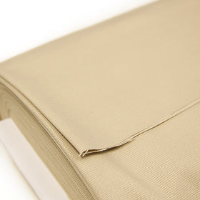 Textured Light Brown, 100% Cotton 12oz Canvas Fabric - 62-64