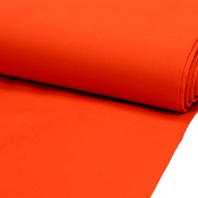 Orange, Poly/Cotton Broadcloth (Tremode)  Fabric - 45