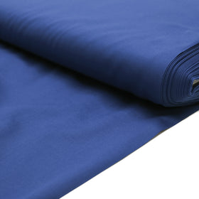 Royal Blue, Poly/Cotton Broadcloth (Tremode)  Fabric - 58