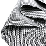 "Black & White, Houndstooth Fabric - 60"" Wide; 1 Yard"