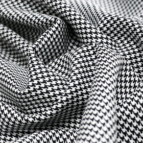 Black & White, Houndstooth Fabric - 60