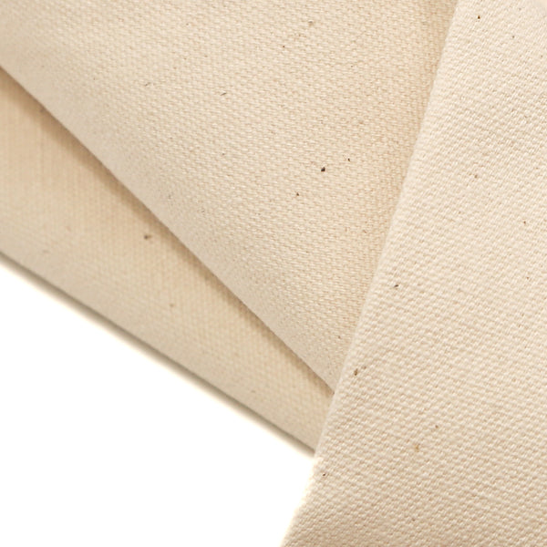 Natural, 100% Cotton 12oz Canvas Fabric - 62-64