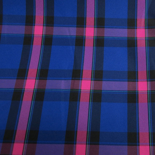 School Plaids, Blue Pink Black, 60