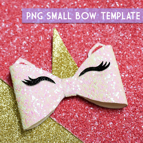 PNG - SMALL Bow Template #9 Digital File Download