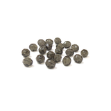 Black Diamond, Round Faceted Fire Polished; 8mm - 20 pcs