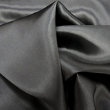 "Silk Charmeusse, Black, 54"" Wide- 1 Yard"