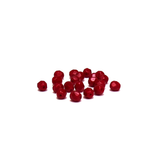 Bordeux, Round Faceted Fire Polished; 6mm - 20 pcs