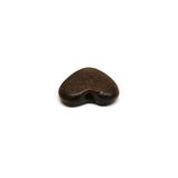 Brown Horn Heart, 21mm; 1 piece