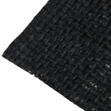 "Black Burlap, 38"" - 40"" Wide; 1 Yard"