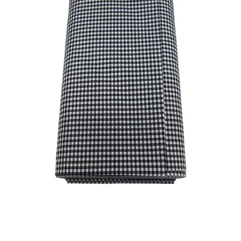"Black Gingham Check 1/16- 60"" wide; 1 yard"