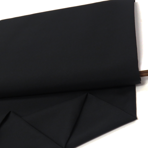 "Black, Pongee - 60"" Wide; 1 Yard"