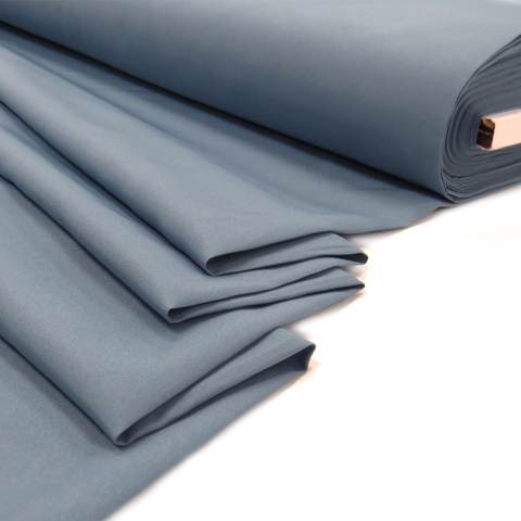 "Blue-Grey, Pongee - 60"" Wide; 1 Yard"