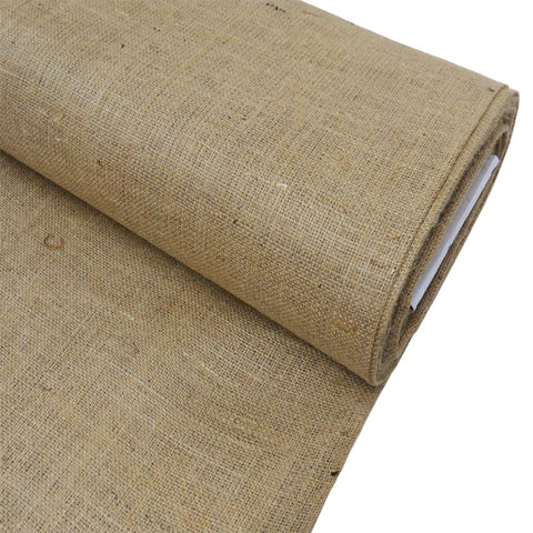 "Natural Burlap, 38"" - 40"" Wide; 1 Yard"