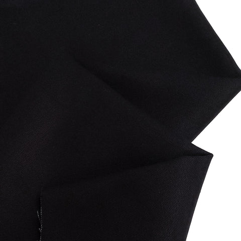 "Black, Canvas Fabric - 60-64"" Wide; 1 Yard"