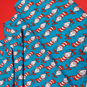 Cat in the Hat 100% Cotton Print Fabric, 44/45