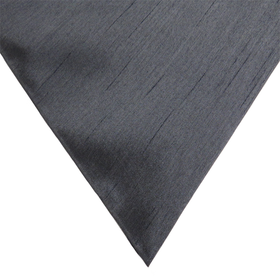Charcoal Gray, 100% Textured Shantung - 118