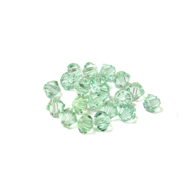 Swarovski Crystal, Bicone, 4mm - Chrysolite; 20 pcs