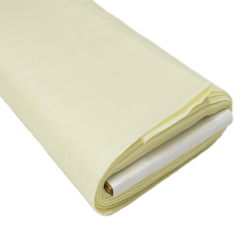 "Light Yellow Handkerchief Linen - 38"" wide; 1 yard"