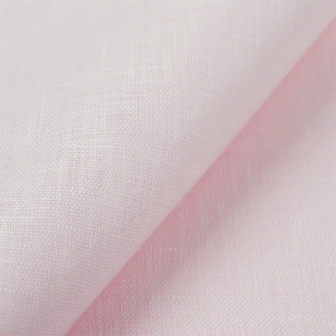 "Light Pink Handkerchief Linen - 38"" wide; 1 yard"