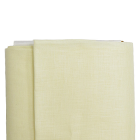 Light Yellow, Linen Estopilla (Handkerchief Linen) - 37