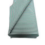 "Green Gingham Check 1/8- 60"" wide; 1 yard"