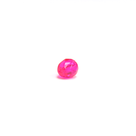 Hot Pink, Round Faceted Fire Polished; 6mm - 20 pcs