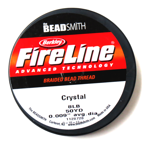 Fire Line, Crystal, 8lbs