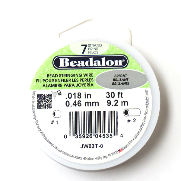 Beadalon, Bead Stringing Wire, 18/30ft