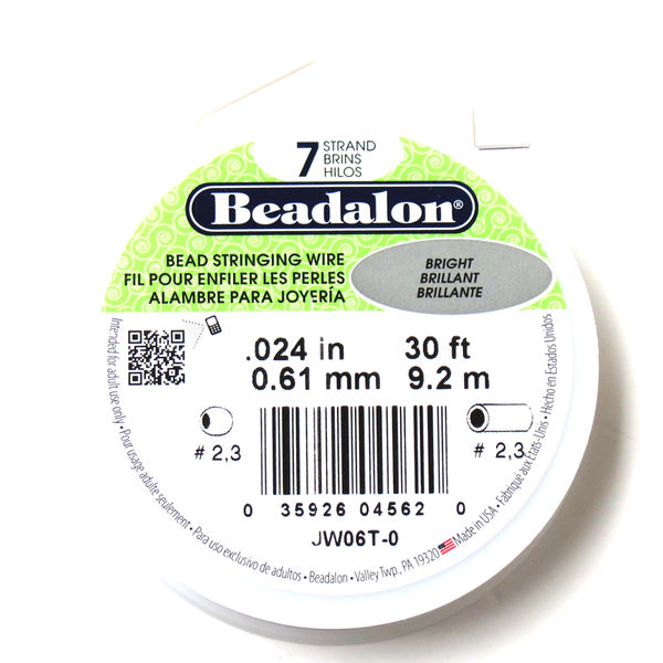 Beadalon, Bead Stringing Wire, 24/30ft