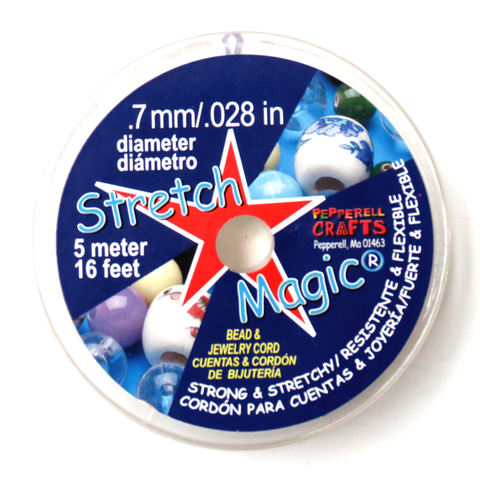 Stretch Magic, Clear, .7mm/5meters