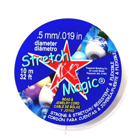 Stretch Magic (TM), Clear, .5mm/10meters