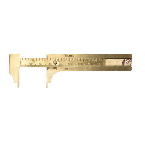 Caliper, Brass-80mm gauge