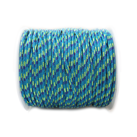 Turquoise Parachute Cord- 2.5mm; per yard