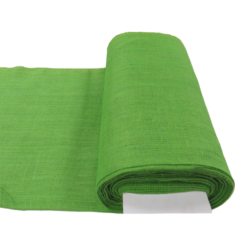 "Kelly Green Burlap, 38"" - 40"" Wide; 1 Yard"
