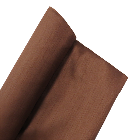"Light Brown, Shantung - 118"" wide; 1 Yard"