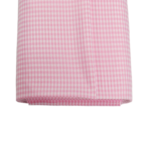 "Light Pink Gingham Check 1/8- 60"" wide; 1 yard"