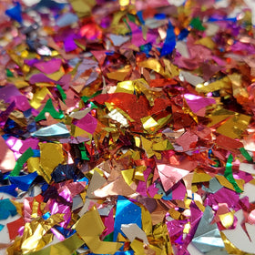 Metallic Foil Glitter, Multicolor - 0.75oz