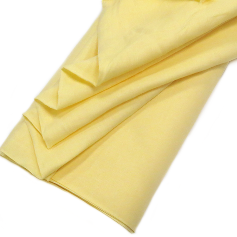 "Yellow, Natural Ramie - 54"" wide; 1 Yard"