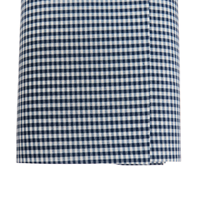 Navy, 100% Polyester Gingham Check 1/8- 58