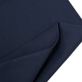 Navy, 65% Poly 35% Cotton Twill  - 62/64