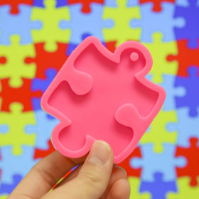 Puzzle / Autism Symbol Mold- Approx. 2.5