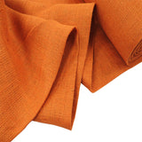 "Orange Burlap, 38"" - 40"" Wide; 1 Yard"